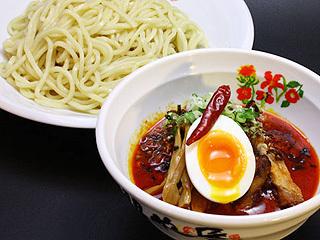 濃厚つけ麺赤辛