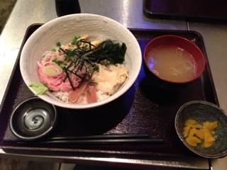 ネギトロ丼定食
