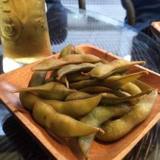やみつき燻製枝豆
