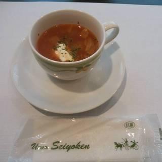 ランチセットのスープ