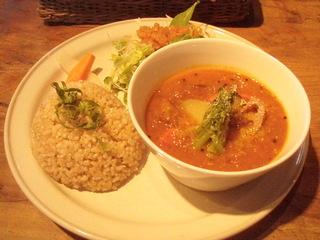 冬の根菜カレー