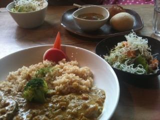 野菜のカレー サラダ付