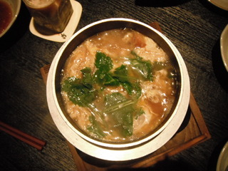 マツタケと舞茸釜炊き雑炊