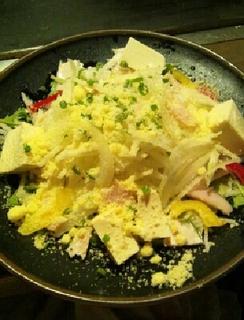 有機豆腐の和風サラダ