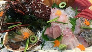 駿河湾の地魚盛り合わせ