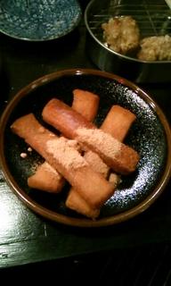 食パンミミ揚げ