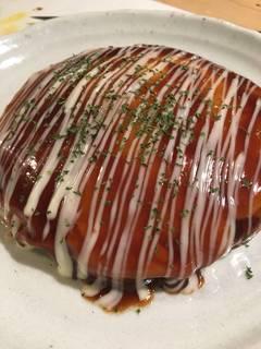 トマトのお好み焼き