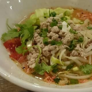(平日ランチーG)トマトチャンノーイ麺
