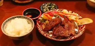 牛フィレあみ焼き定食(ランチ)