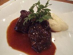 国産牛ホホ肉の赤ワイン煮