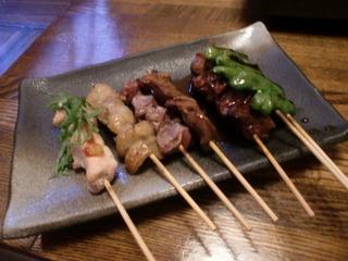 串焼き 6本盛り