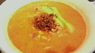 胡椒と酸味の辛味汁そば