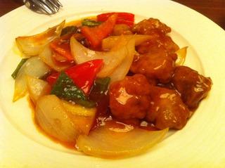 豚肉と彩り野菜の酢豚