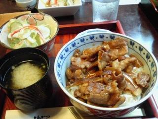Mini豚すき焼き丼