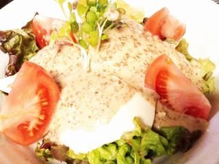 手作り豆福のサラダ