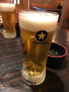 サッポロ 生ビール黒ラベル樽生 中