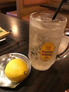 生搾りレモン角ハイボール