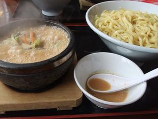 石焼き野菜味噌つけ麺