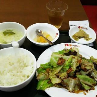 日替り定食A(ホイコーロー)