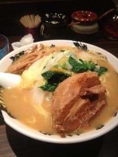 鷹虎野菜ラーメン