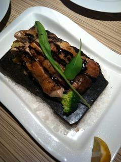 若鶏の大理石焼きランチ