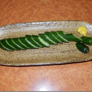胡瓜の一本漬け