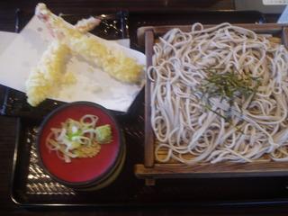 大海老天ぷらそば