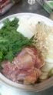 大山鶏のコラーゲン鍋