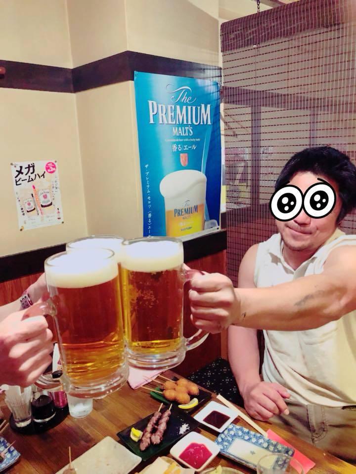 大ジョッキ ビール