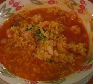 完熟トマト魚介のリゾット