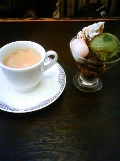 和風抹茶パフェ