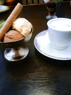 アイスクリーム盛り合わせ