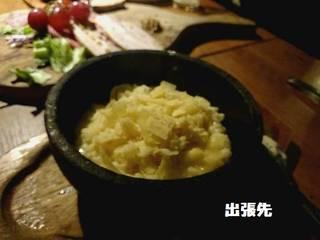 石焼チーズリゾット