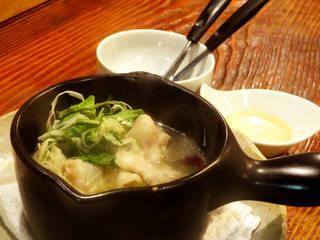 イベリコ豚とキャベツのスープ鍋 バーニャカウダー風味