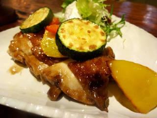 若鶏もも肉のイタリアン照り焼き