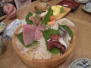 鮮魚五種盛り