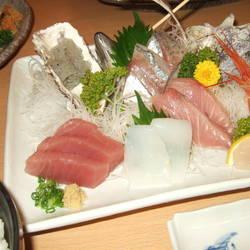 海鮮かきあげ 刺身定食 キンメの煮つけ定食