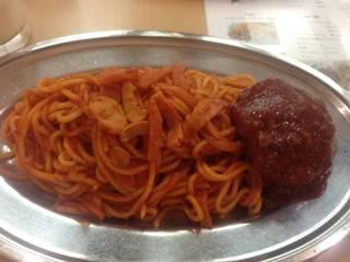 ハンバーグスパゲティー