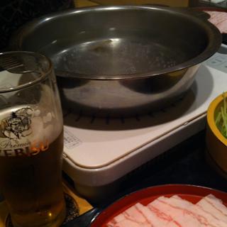 京もち豚 くぐり鍋