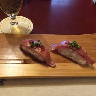 極上飛騨牛炙りにぎり寿司