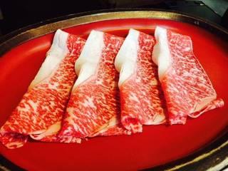 特選牛定食(しゃぶしゃぶ・すき焼)