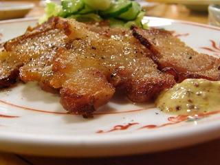塩豚カリカリ焼き