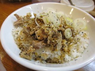 肉胡椒ご飯