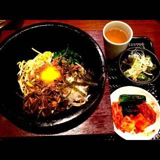 冷麺館定食