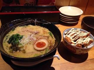 淡海鶏白湯麺