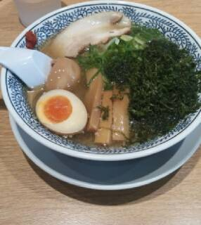 磯海苔塩ラーメン(半熟煮玉子入り)