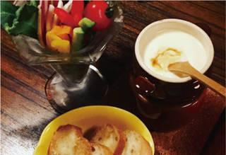 鎌倉野菜のチーズフォンデュ