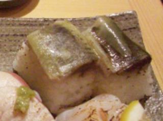 いわし棒寿司(炙り)