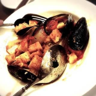 ムール貝トマトソース炒め煮