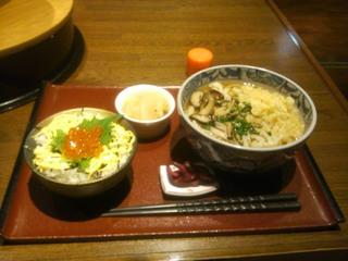 日替わり定食(小鉢・味噌汁・漬け物付き)